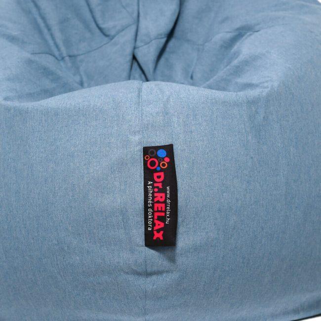 Dr.Relax Basic babzsák kék