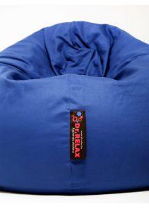 Dr.Relax Basic babzsák kék pamut