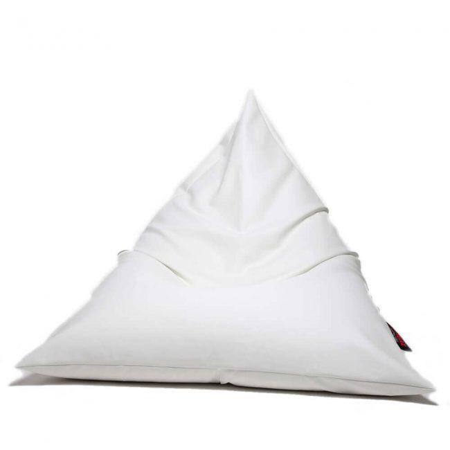 Dr.Relax Chill Textilbőr Babzsákfotel fehér