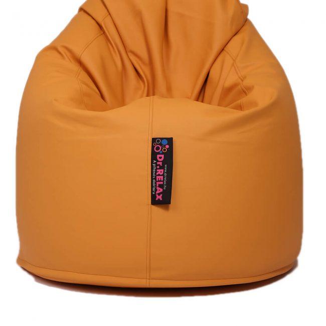 Dr.Relax Comfort babzsák textilbőr - naranc