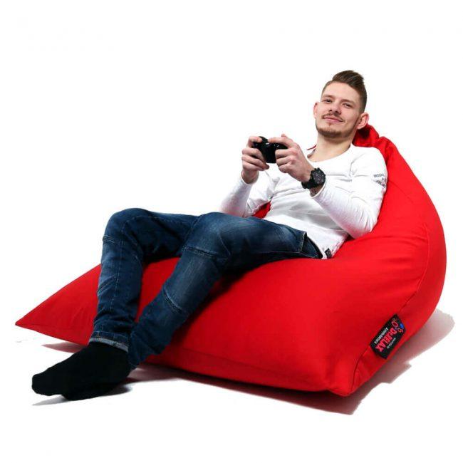 Dr.Relax Gamer Babzsák piros