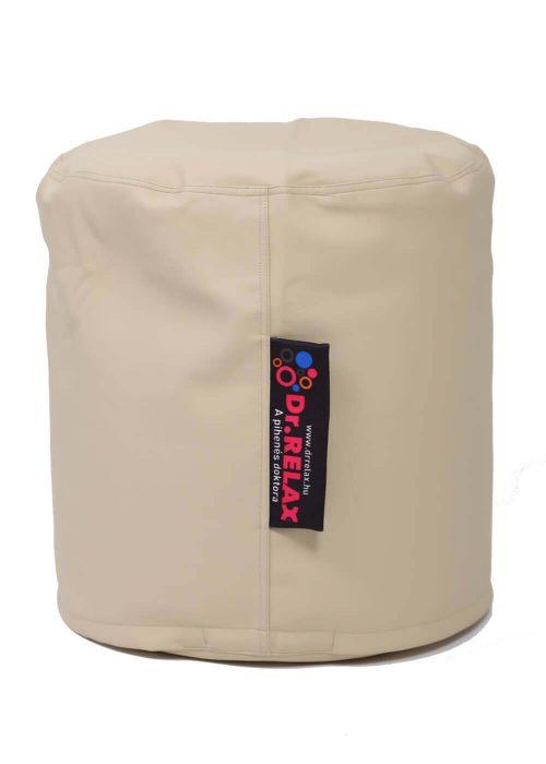 Dr.Relax Puff babzsák textilbőr - bézs