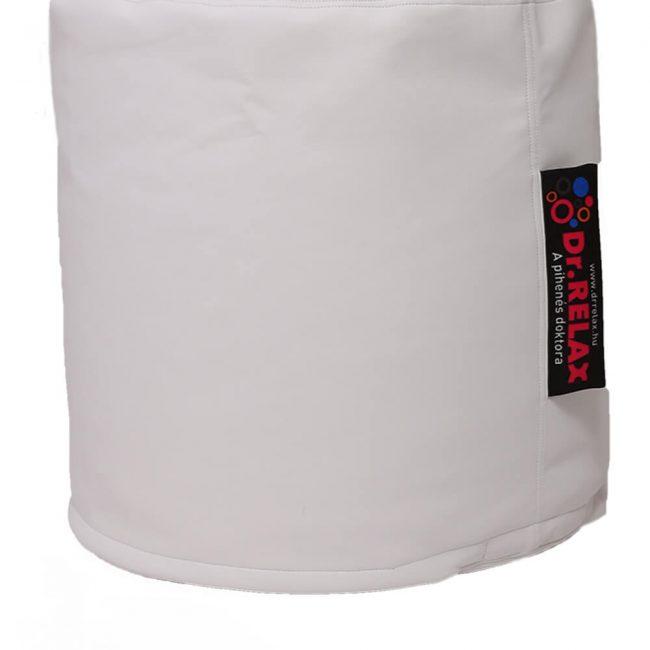 Dr.Relax Puff babzsák textilbőr - fehér