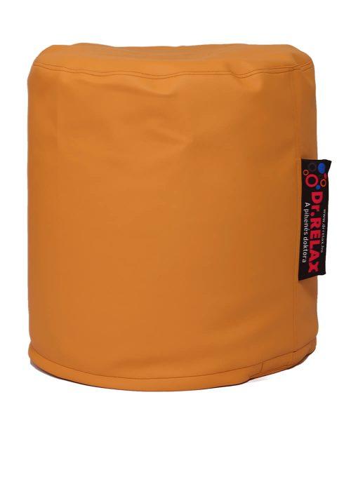 Dr.Relax Puff babzsák textilbőr - narancs