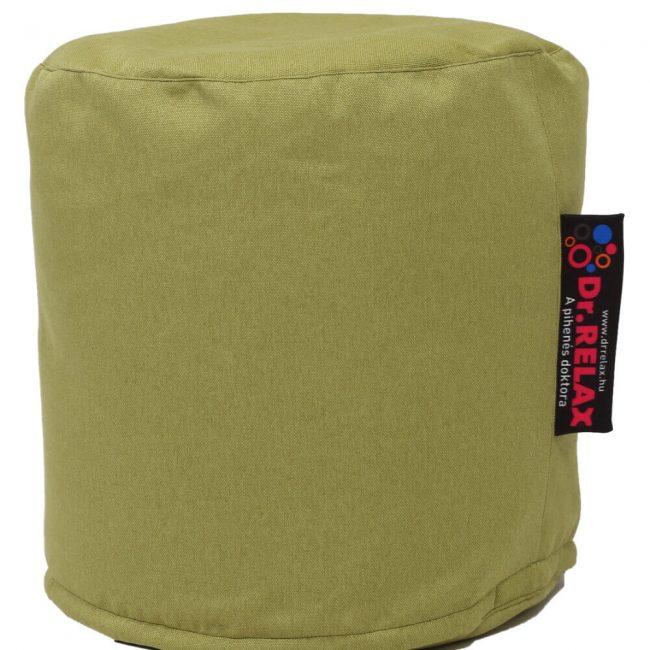 Dr.Relax puff babzsák Bútorszövet - Zöld