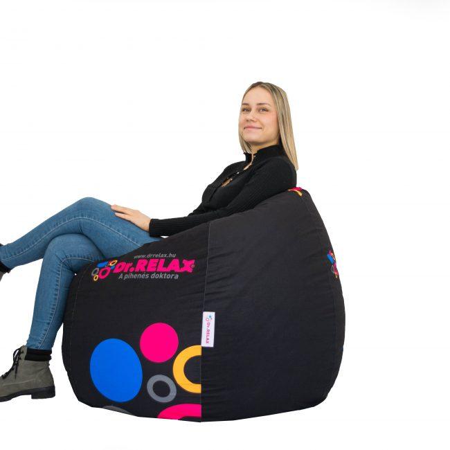 Dr.Relax Design Limited Babzsák Fekete