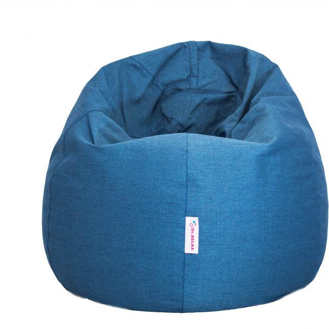 Dr.Relax Basic Babzsákfotel Bútorszövet - Kék