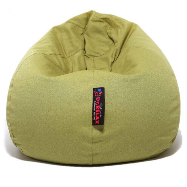 Dr.Relax Basic babzsákfotel bútorszövet zöld