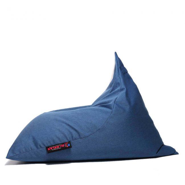 Dr.Relax Chill Bútorszövet Babzsákfotel kék