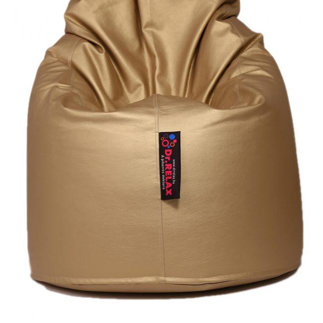 Dr.Relax Comfort babzsák textilbőr - arany