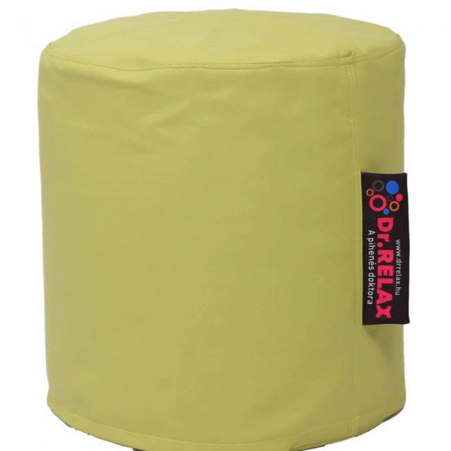 Dr.Relax Puff babzsák textilbőr - zöld