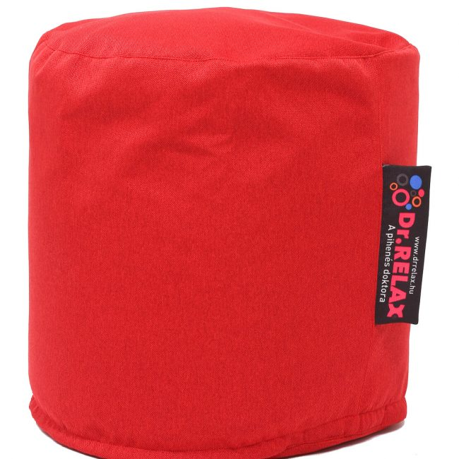Dr.Relax puff babzsák Bútorszövet - Piros