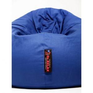 Dr.Relax Basic Babzsákfotel Pamut Kék