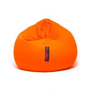 Dr.Relax Basic Babzsákfotel Pamut Narancs